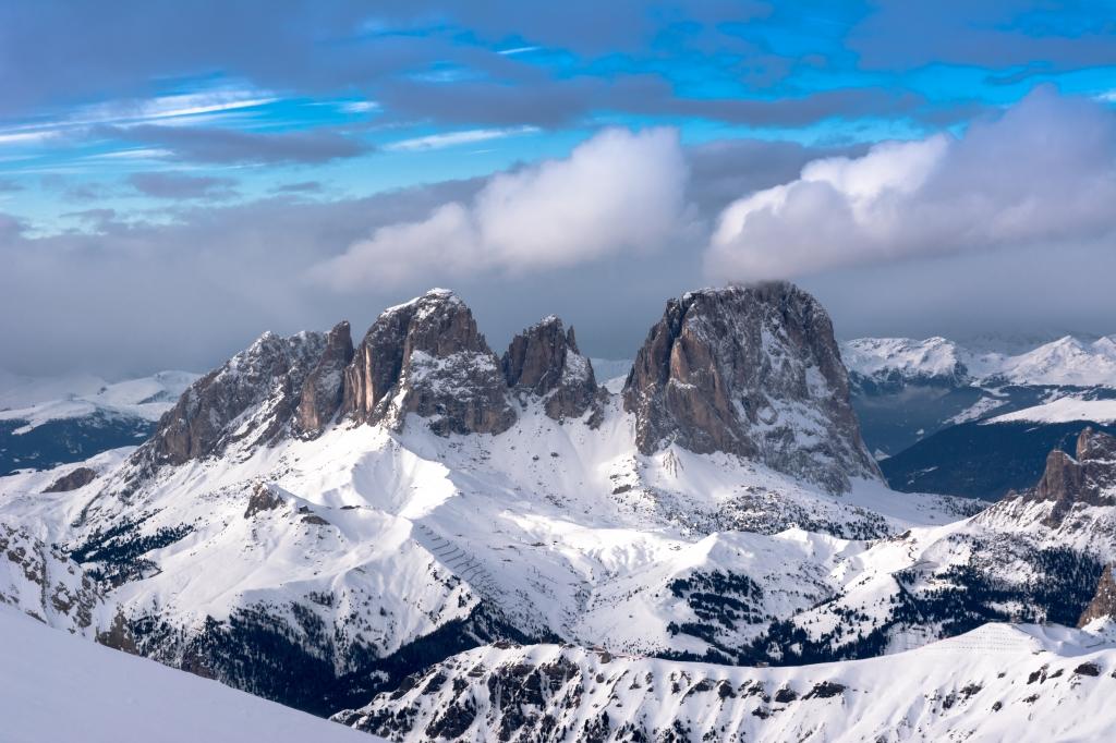 Stampe artistiche quadri e poster con dolomiti neve - Immagini da colorare la neve ...