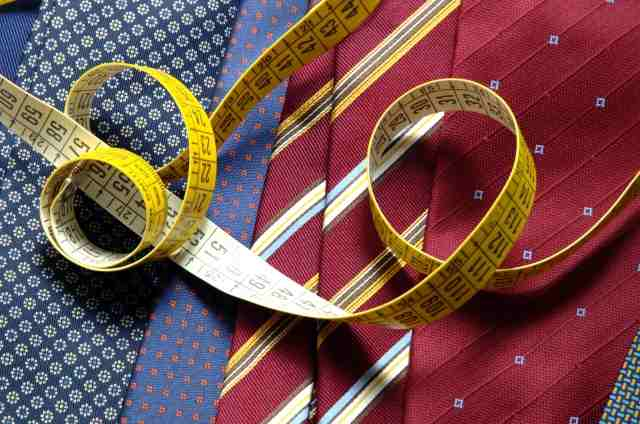 Ties symbol of male elegance