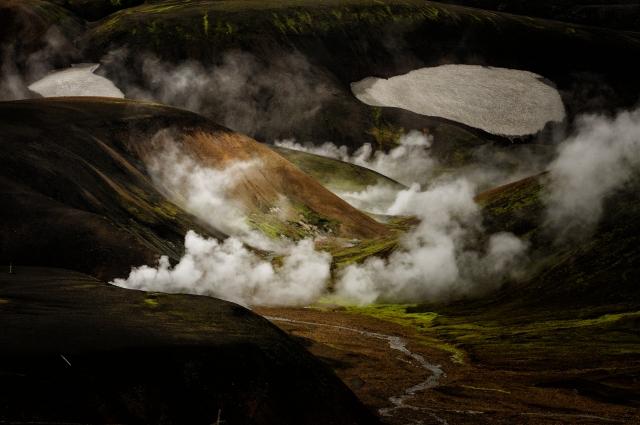 Foto e poster di paesaggio islandese