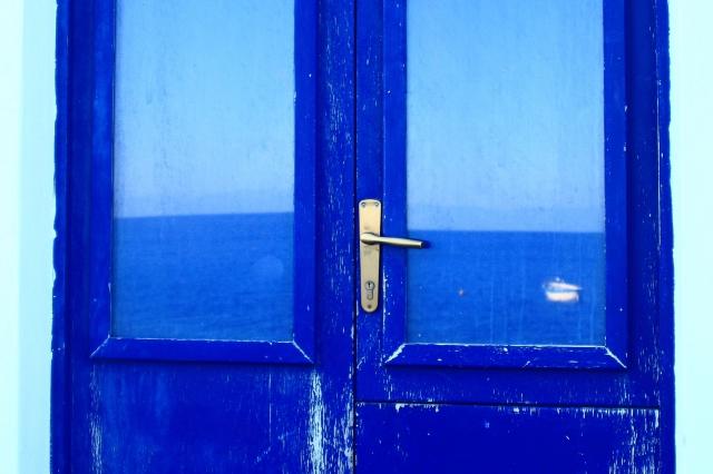 Foto e poster di una porta blu