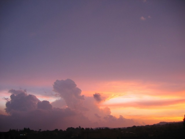 Sunset from my Window 1