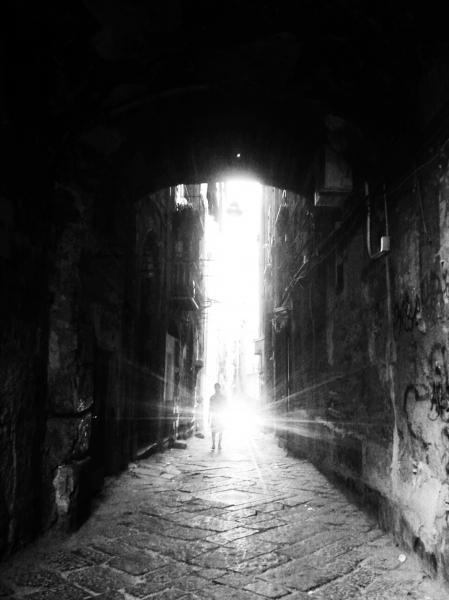 Risultati immagini per Fotografie di NAPOLI IN BIANCO E NERO
