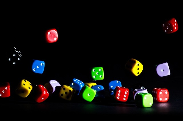 Colorfull dice