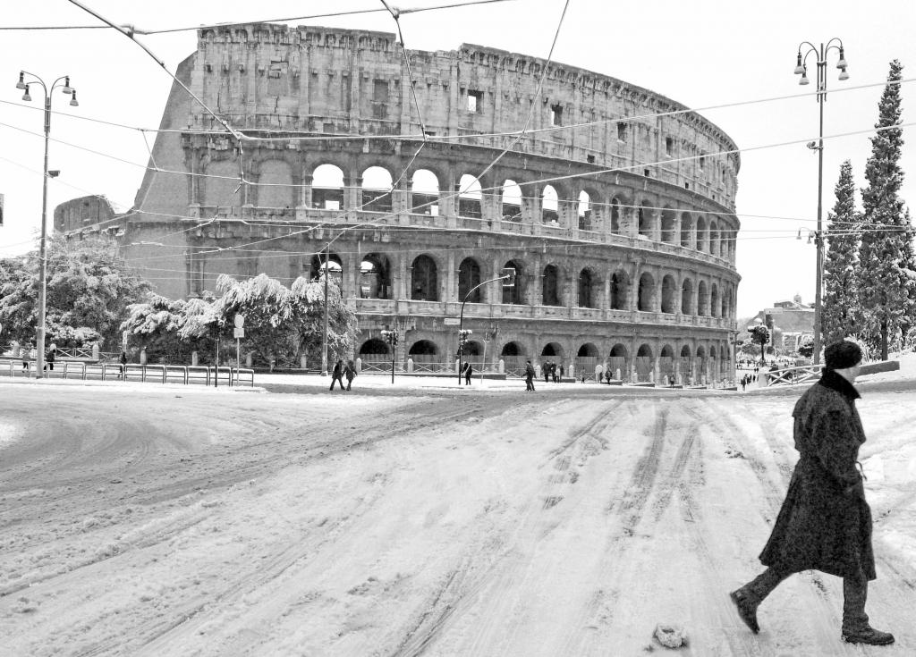 Stampe artistiche quadri e poster con colosseo monumenti for Roma in bianco e nero
