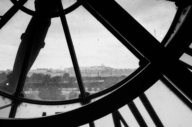 Montmartre from Musée d'Orsay