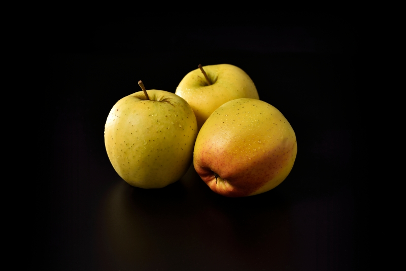Wall art, canvas print and poster of - Yellow Apples