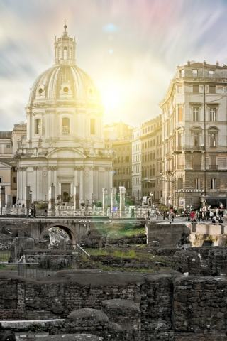 Old Rome Sunset