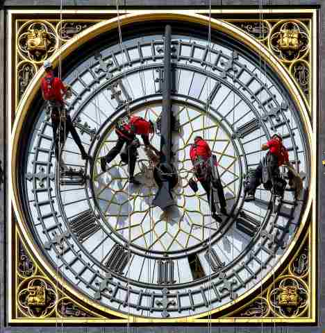 Quadro design e stampa artistica online - Big Ben at ten to three, London