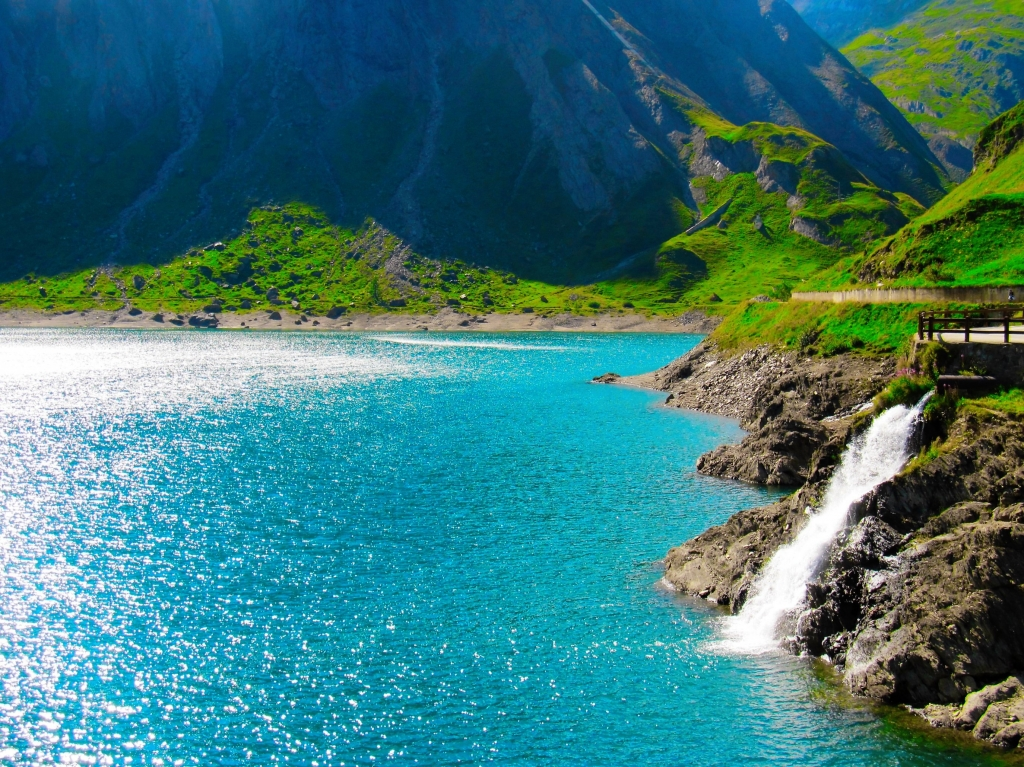 Stampe artistiche quadri e poster con blu colore lago for Stampe paesaggi naturali