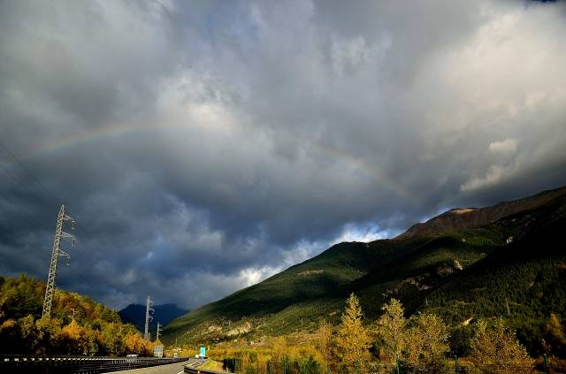 Arcobaleno in Val Susa