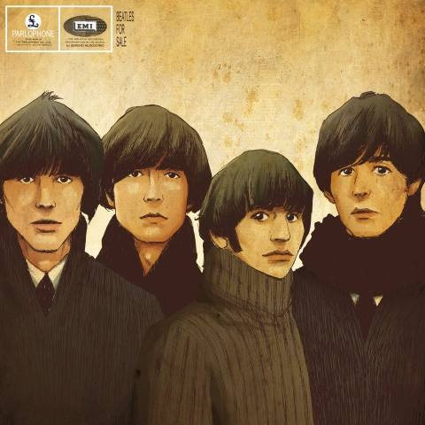Tableau moderne et impression - Beatles for Sale