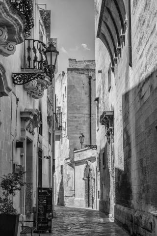 Street of Lecce