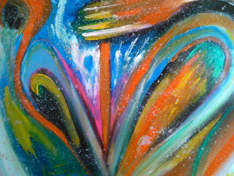 Stampe artistiche, quadri e poster con astratti, astrattismo, cuore ...