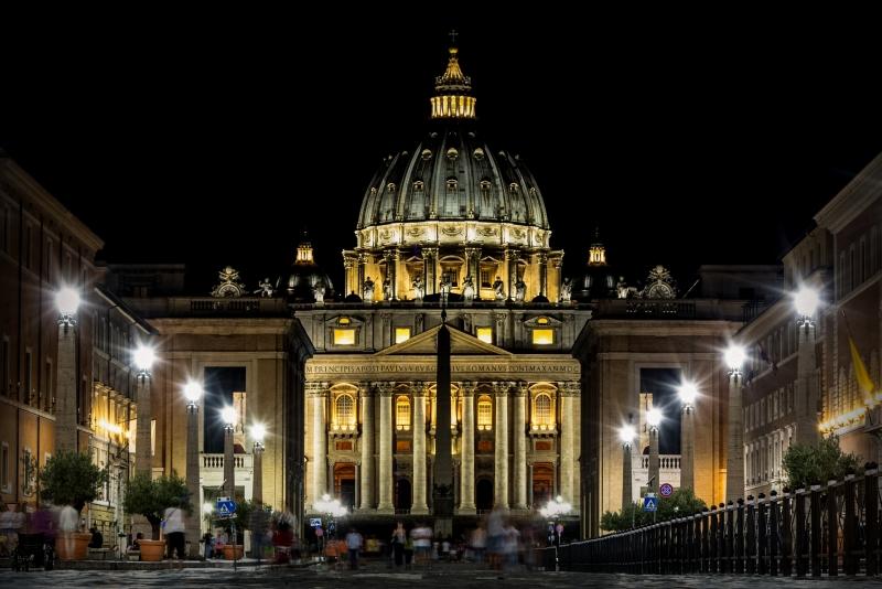 Stampe artistiche quadri e poster con architettura - Le finestre sul vaticano ...