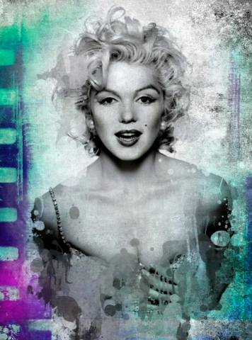 Quadro moderno e stampa - Enchanting Marilyn