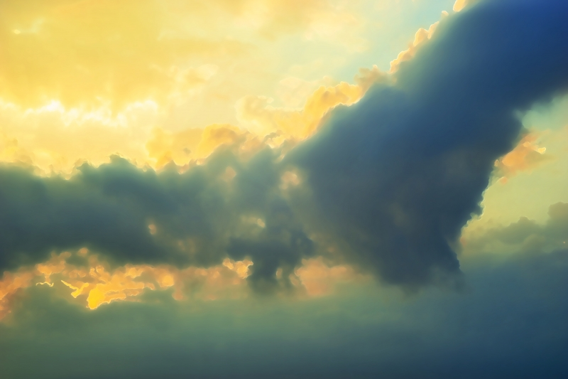 Quadro su tela benvenuto parole frase nube concetto u pixers