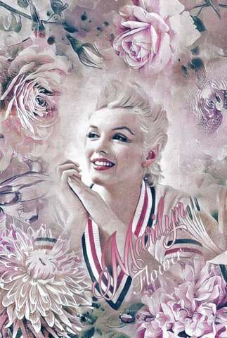 Tableau moderne et impression - Marilyn Flower