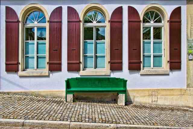 Quadro design, stampa artistica e poster online - The Bench, Bern
