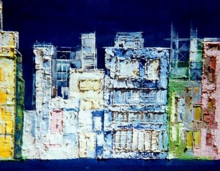 Stampe artistiche, quadri e poster con città, edifici, palazzi ...