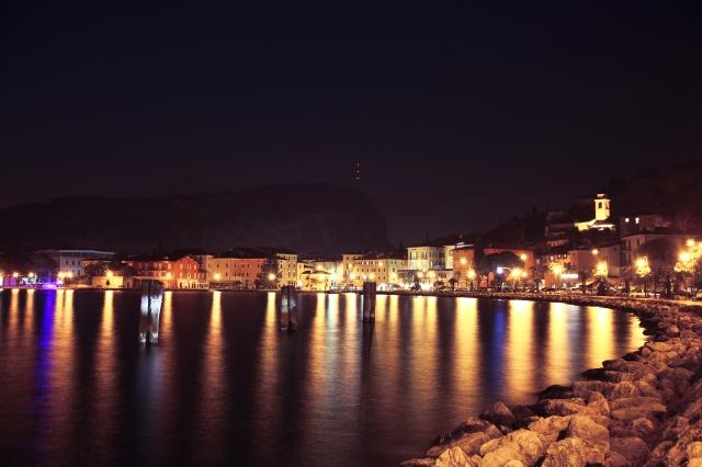 Torbole by night