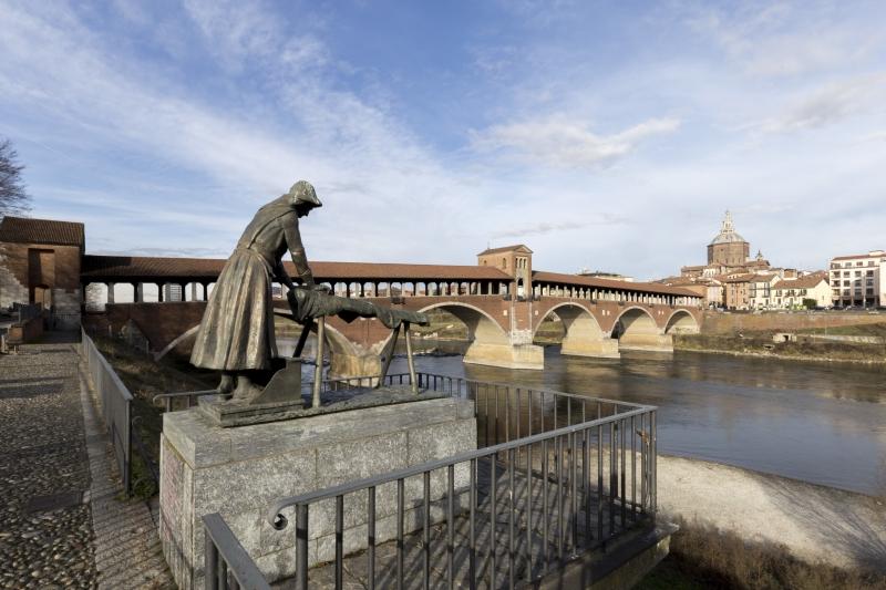 Ufficio Moderno Della Lombardia Pavia : Stampe artistiche quadri e poster con cartolina fiume ticino