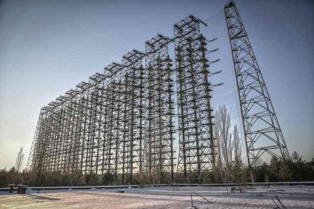 Chernobyl 30 years after - Radar Duga