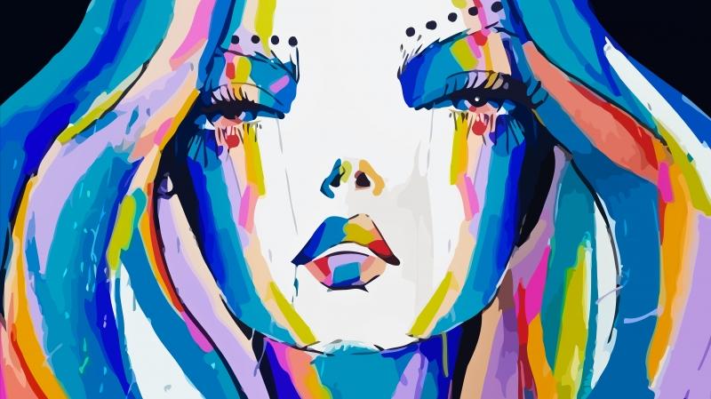 Stampe artistiche quadri e poster con arte grafica astratto