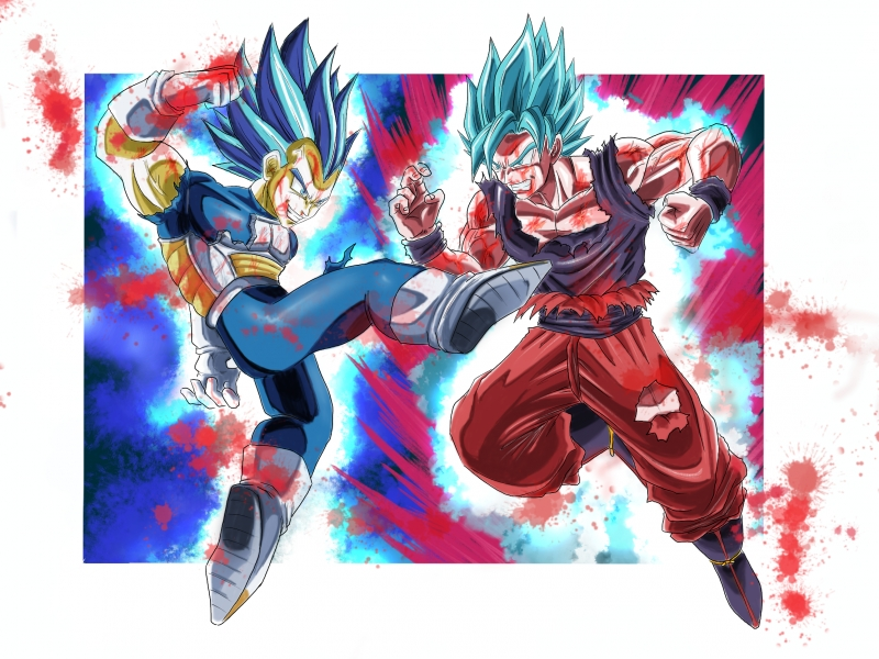 Wall art, canvas print and poster of - Dragon Ball Super ...