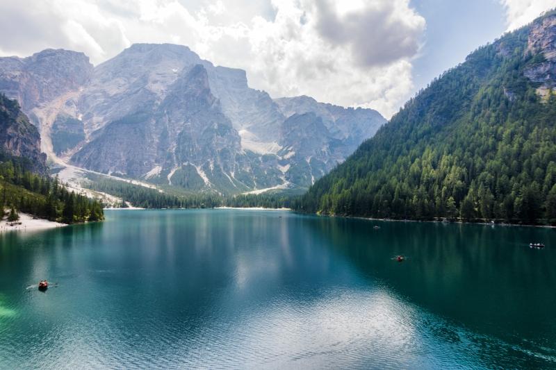 Stampe artistiche quadri e poster con dolomiti laghi alpini laghi