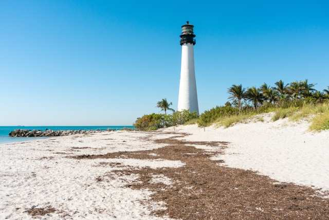 Lighthouse in Key Biscayn,Miami