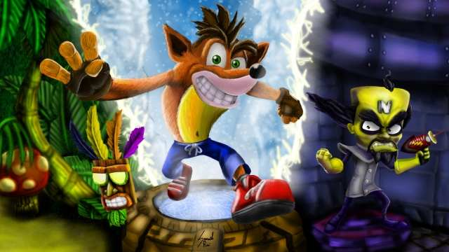 Crash Bandicoot N.Sane Trilogy Disegno digitale