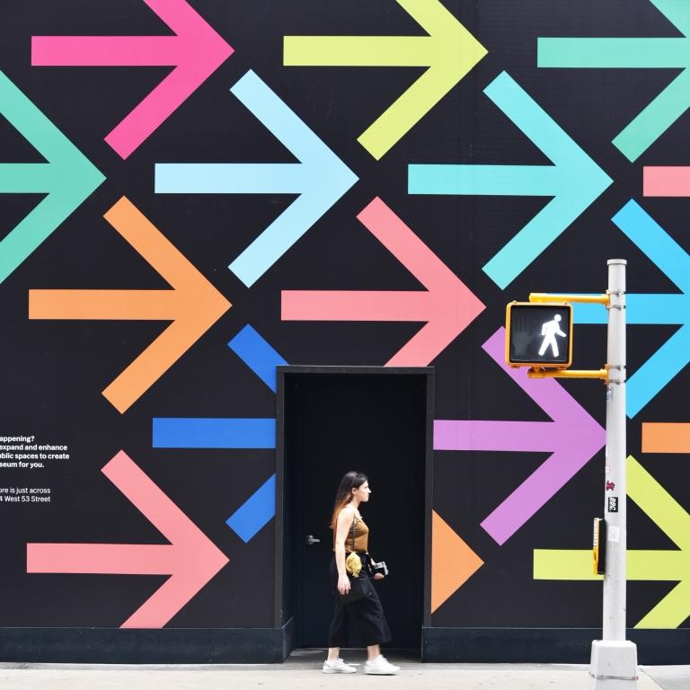 Stampe artistiche quadri e poster con arrows minimal for Quadri minimal