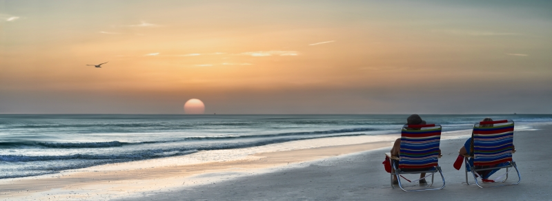 Wall art, poster and art print with beach, florida, ocean, relaxing, scenic, sea, serene, sunset