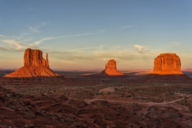 Quadro design e stampa artistica online - Sunset at Monument Valley