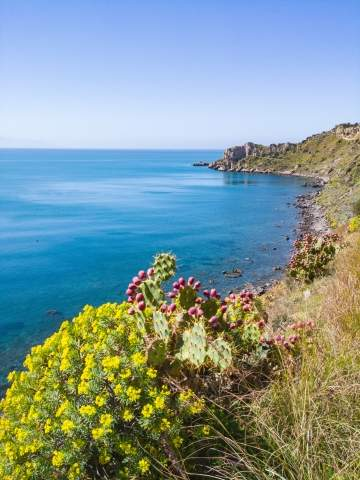 Spring in Sicily tranquil atmosphere peace of mind