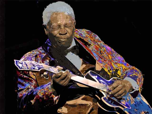 B.B King - Collection Pop art