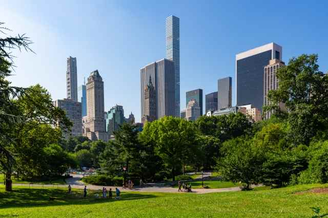 I grattacieli di Manhattan visti da Central Park - New York