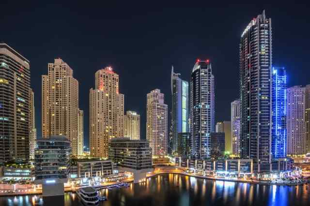 Jumeirah Lake Towers  Dubai