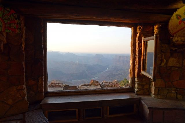 A window on the Colorado River and Grand Canyon