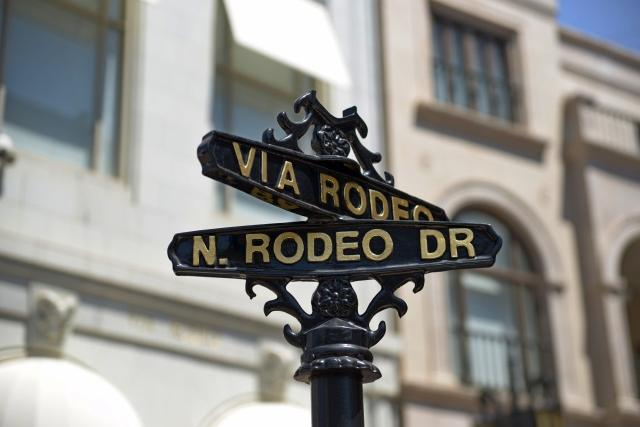 Rodeo drive street signal