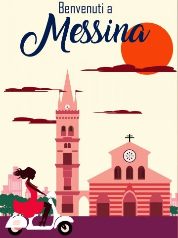 Messina Travelposter