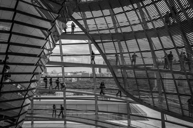 Reichstag Dome, Berlin #1