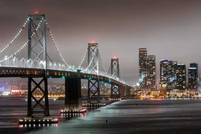 Bay bridge a San Francisco